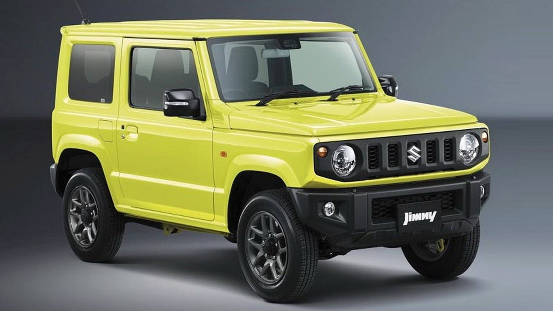 2018 suzuki jimny convertible masterfully rendered. Black Bedroom Furniture Sets. Home Design Ideas