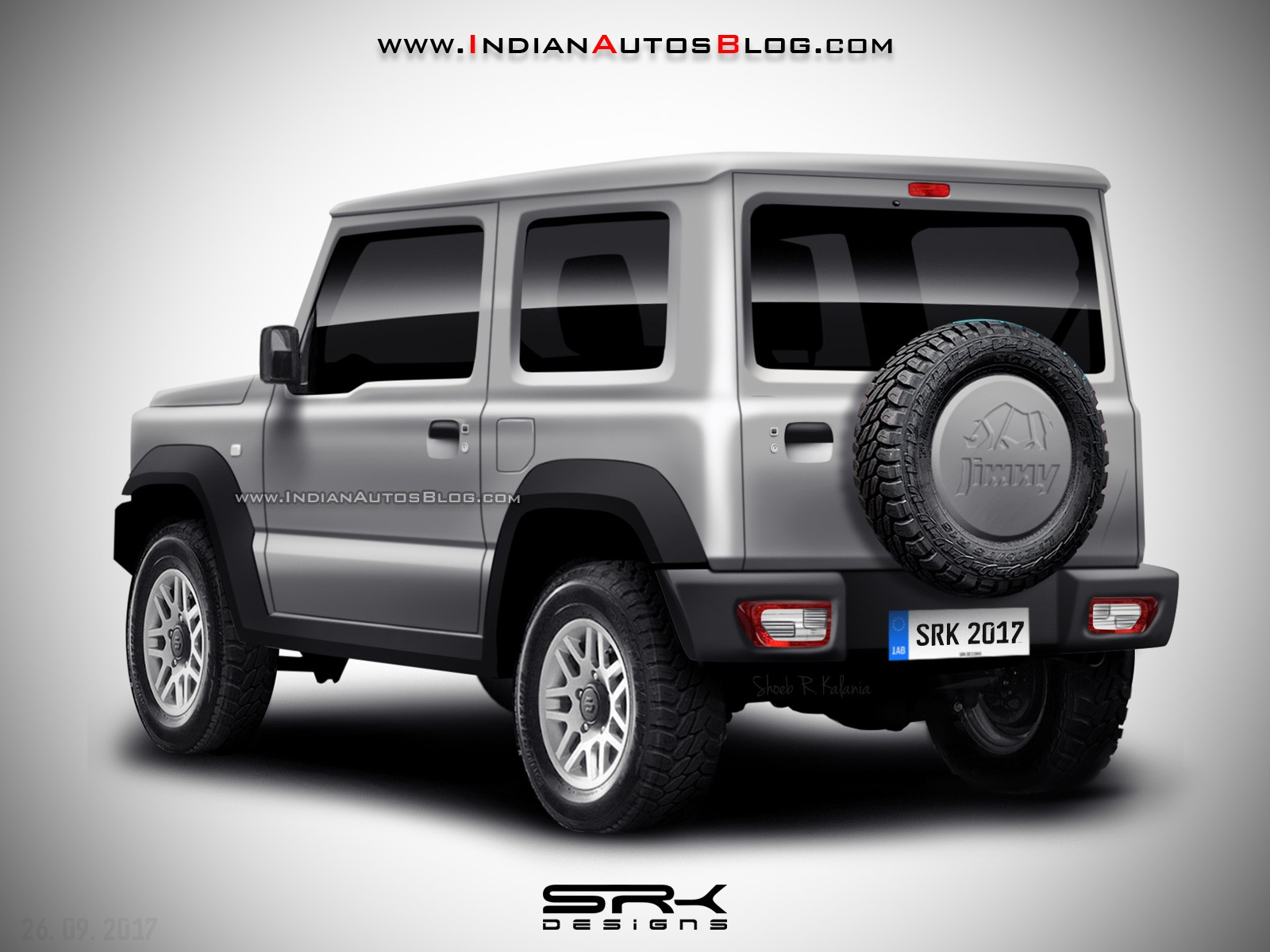 2018 suzuki jimny spied without camouflage debut imminent. Black Bedroom Furniture Sets. Home Design Ideas
