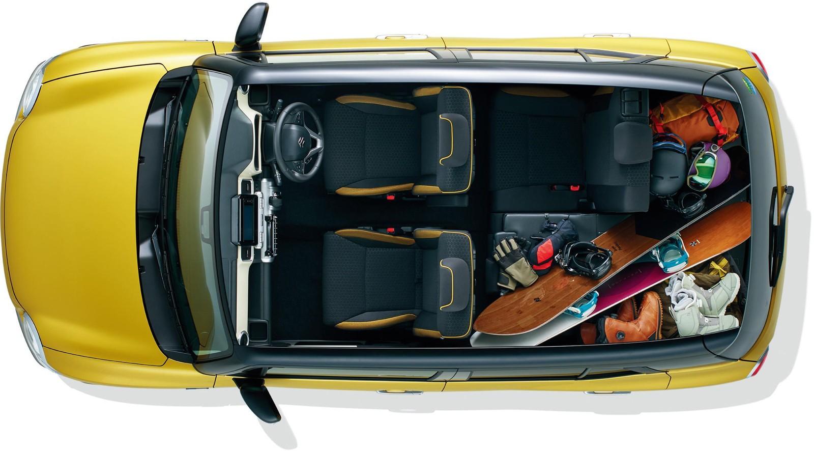 Suzuki Xbee Top View Kei Car