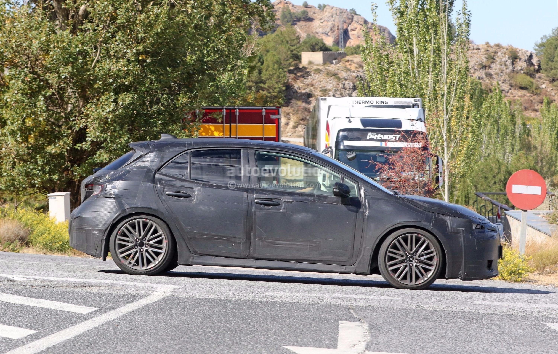 Toyota Auris Next Generation 2018 >> 2019 Toyota Corolla Hatchback (iM / Auris) Spied, Boasts Production-ready Lights - autoevolution