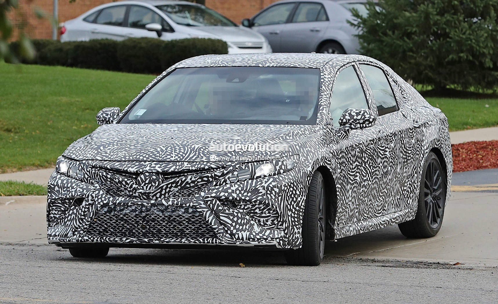 2018 toyota camry prototype possible trd performance model