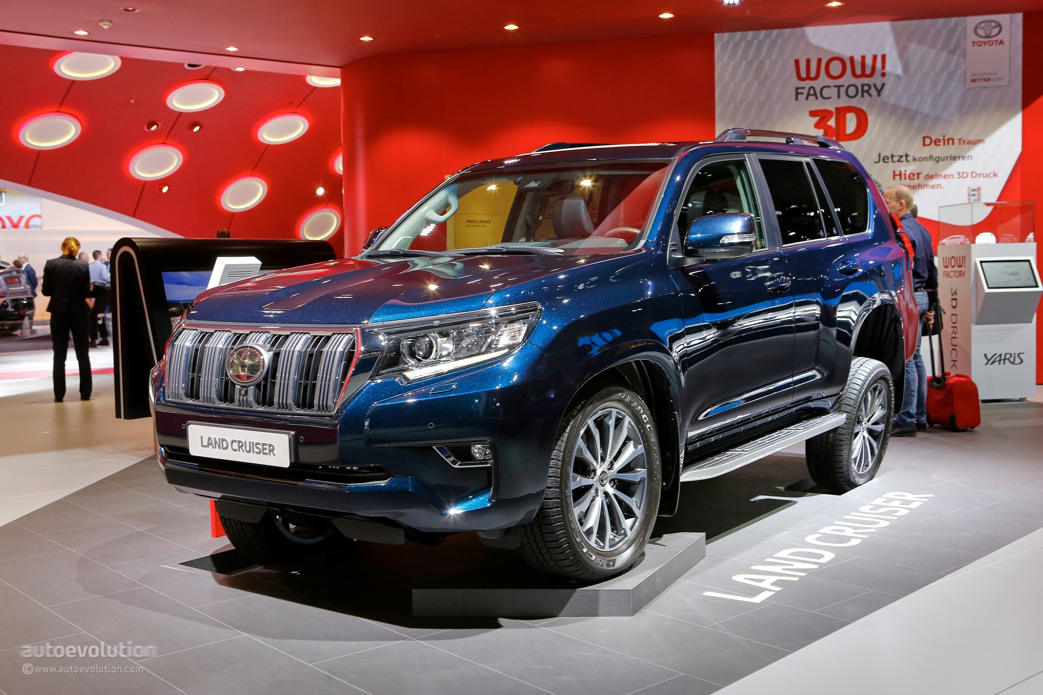 2018 Toyota Land Cruiser Prado Facelift Drops By Frankfurt To Say Hi - autoevolution