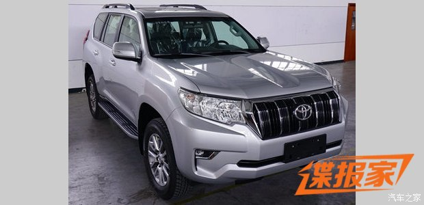 2018 Toyota Land Cruiser Prado Shown in Full - autoevolution