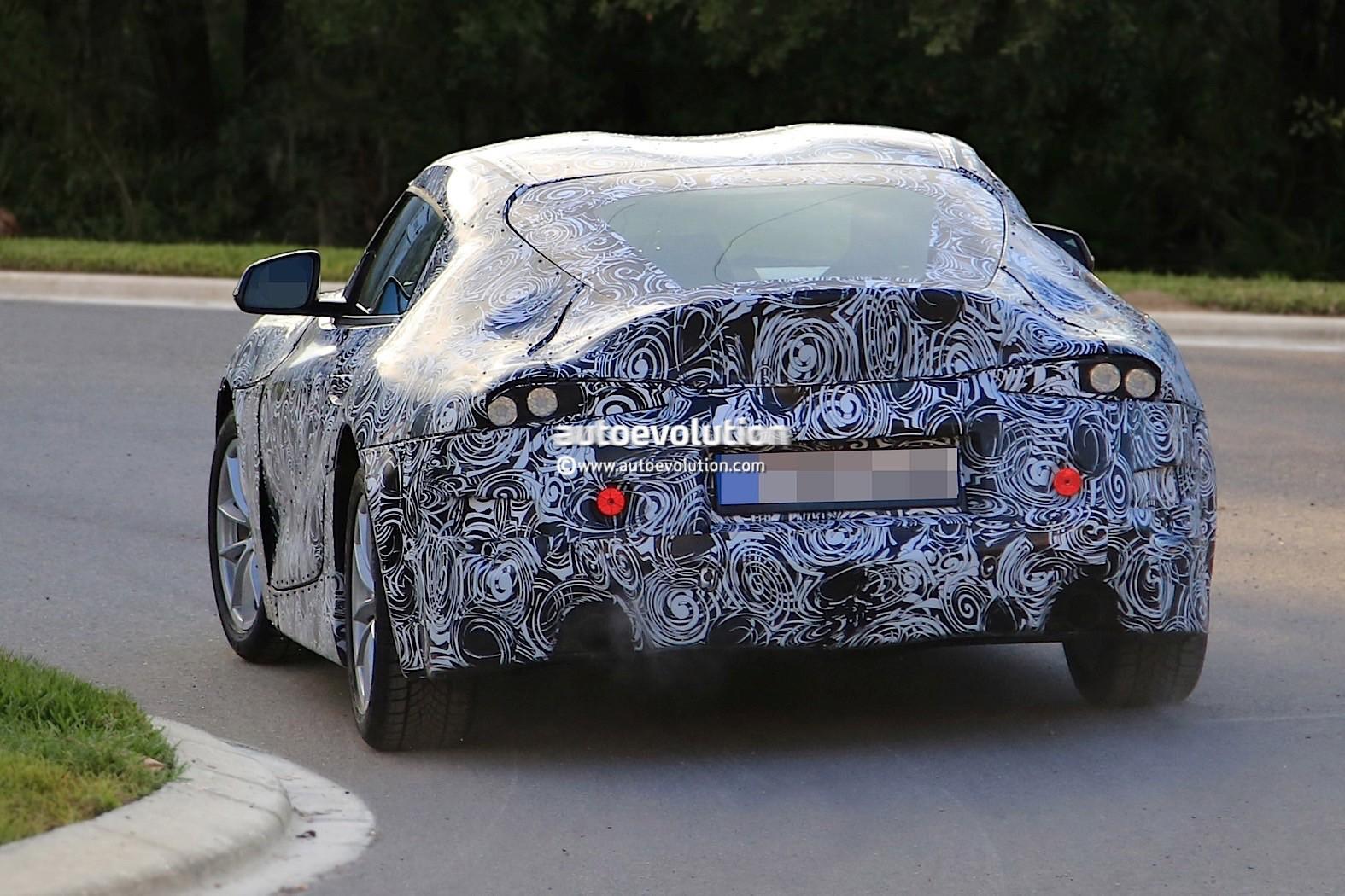 2018 Toyota Supra Prototype Debuts Production Body, Looks ...