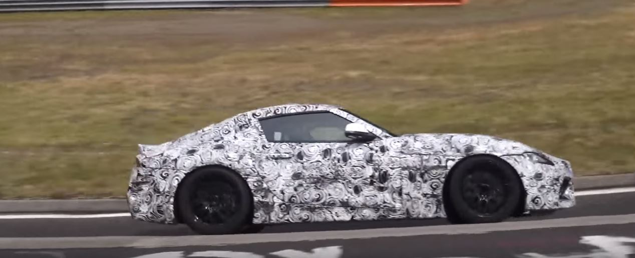 2018 toyota supra.  Toyota 2018 Supra On Nurburgring On Toyota Supra
