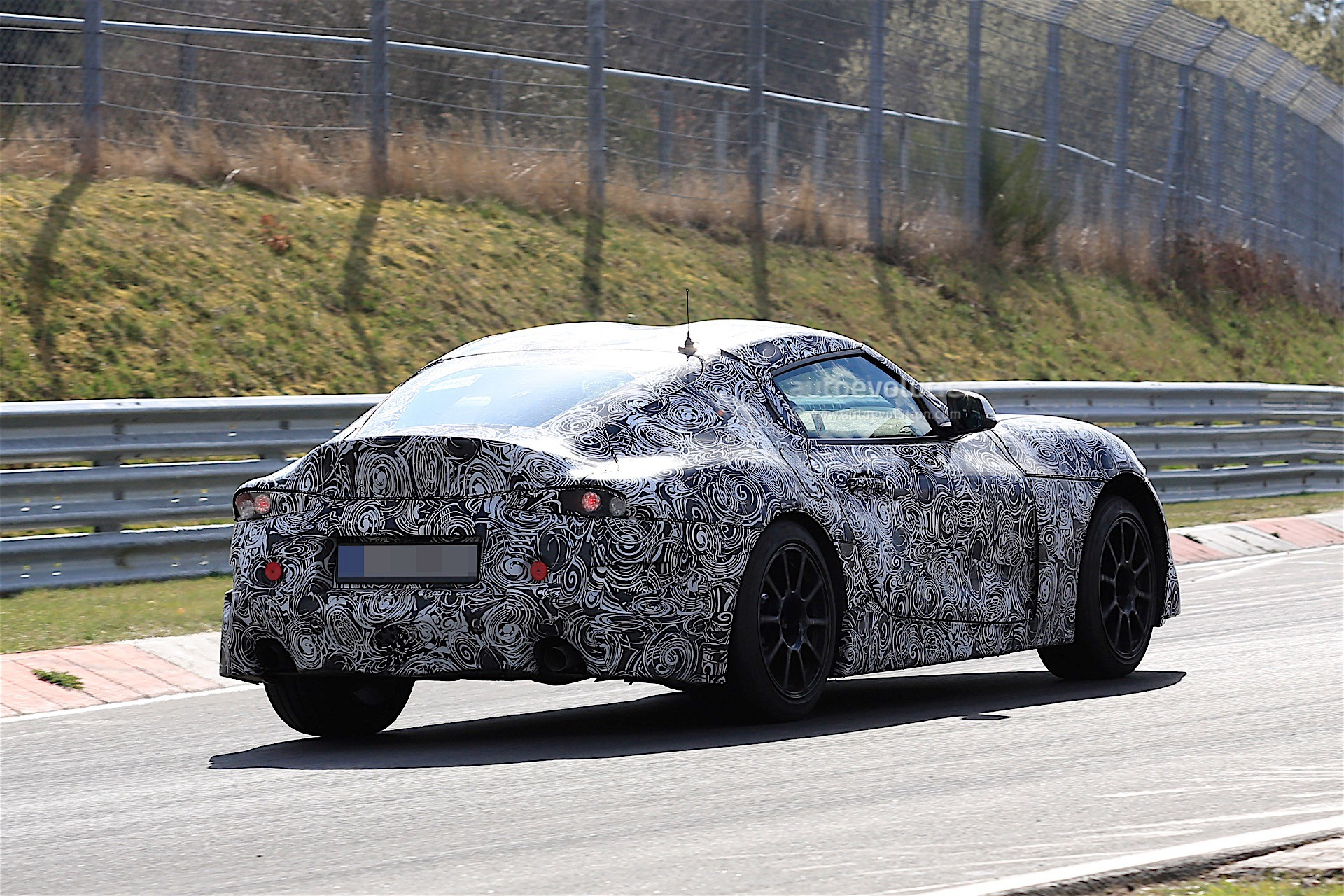 2018 Toyota Supra Spied on the Nurburgring, Comes With BMW ...