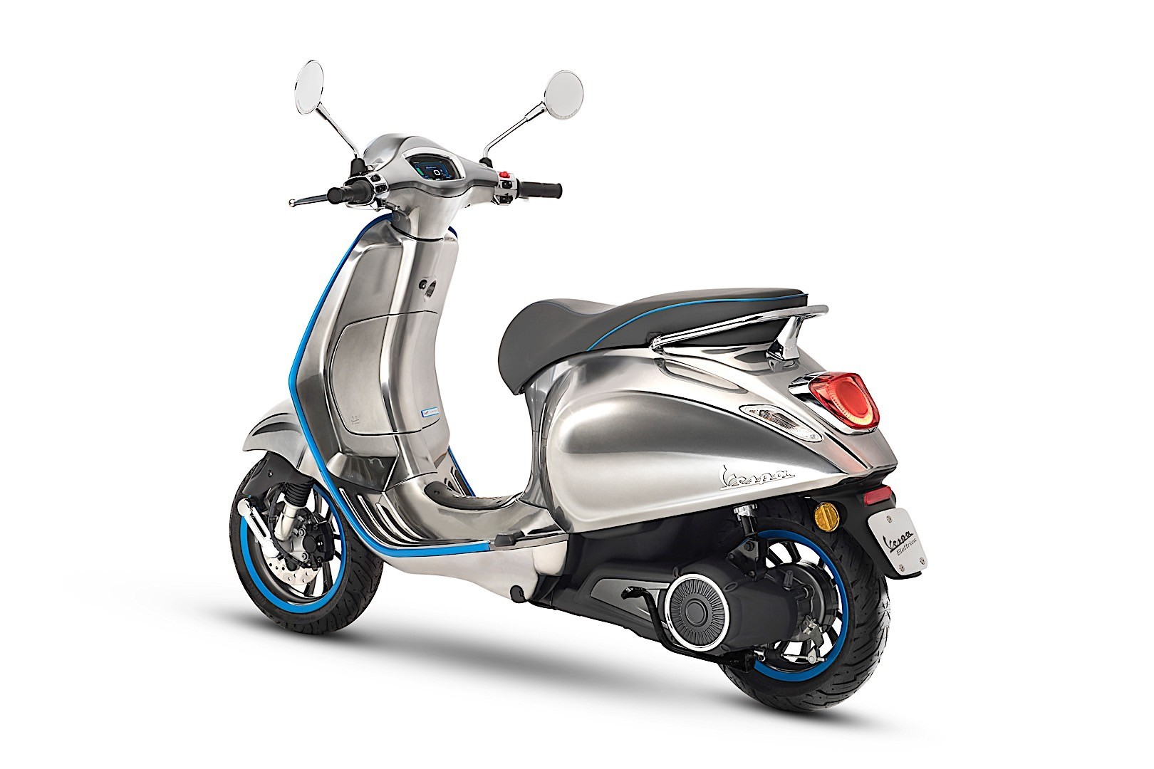 2018 Vespa Elettrica Goes Live At Eicma Autoevolution