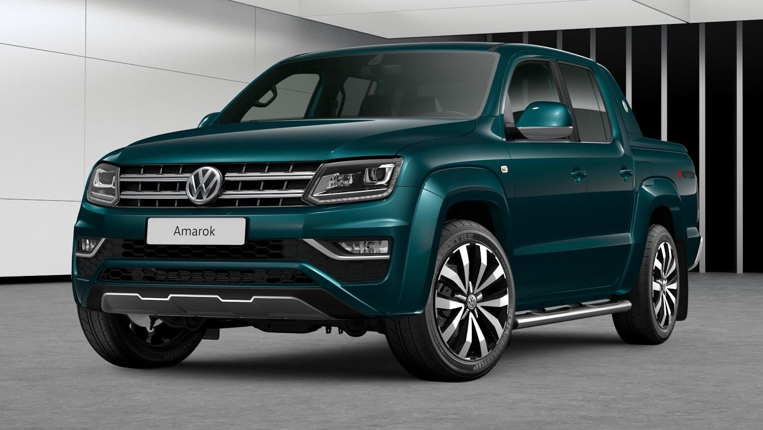 2018 Volkswagen Amarok Gets More Powerful 3 0 V6 Tdi