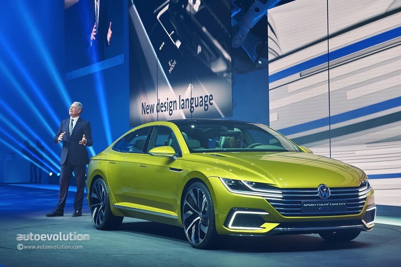 2018 volkswagen arteon slated to premiere at 2017 geneva motor show autoevolution