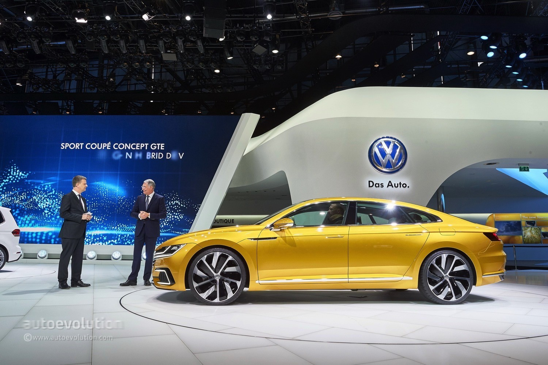 Touareg Facelift Conversion >> 2018 Volkswagen Arteon Slated to Premiere at 2017 Geneva Motor Show - autoevolution