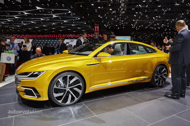 2018 volkswagen arteon slated to premiere at 2017 geneva - Geneva motor show ...