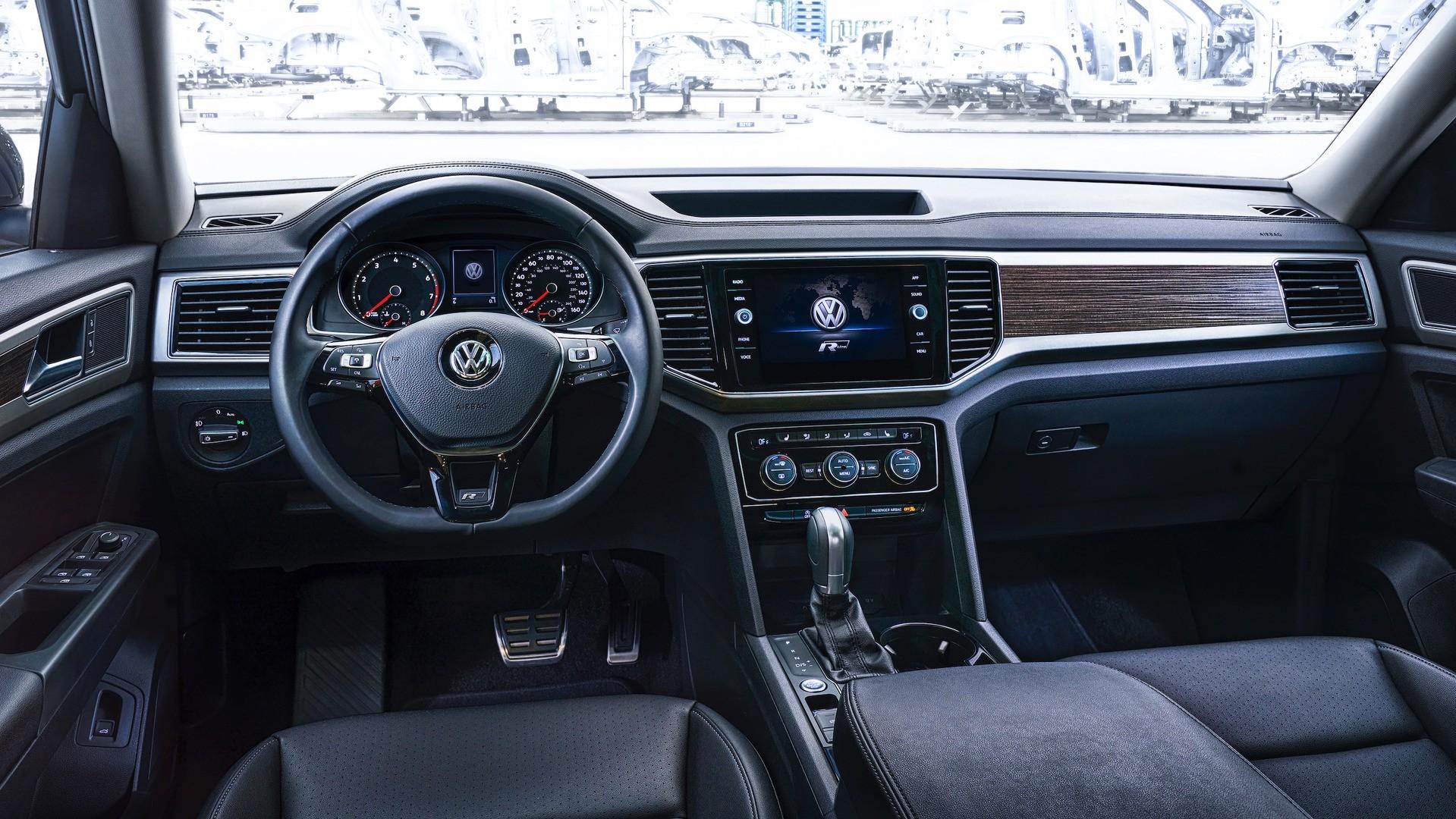 2018 Volkswagen Atlas R Line Revealed Autoevolution