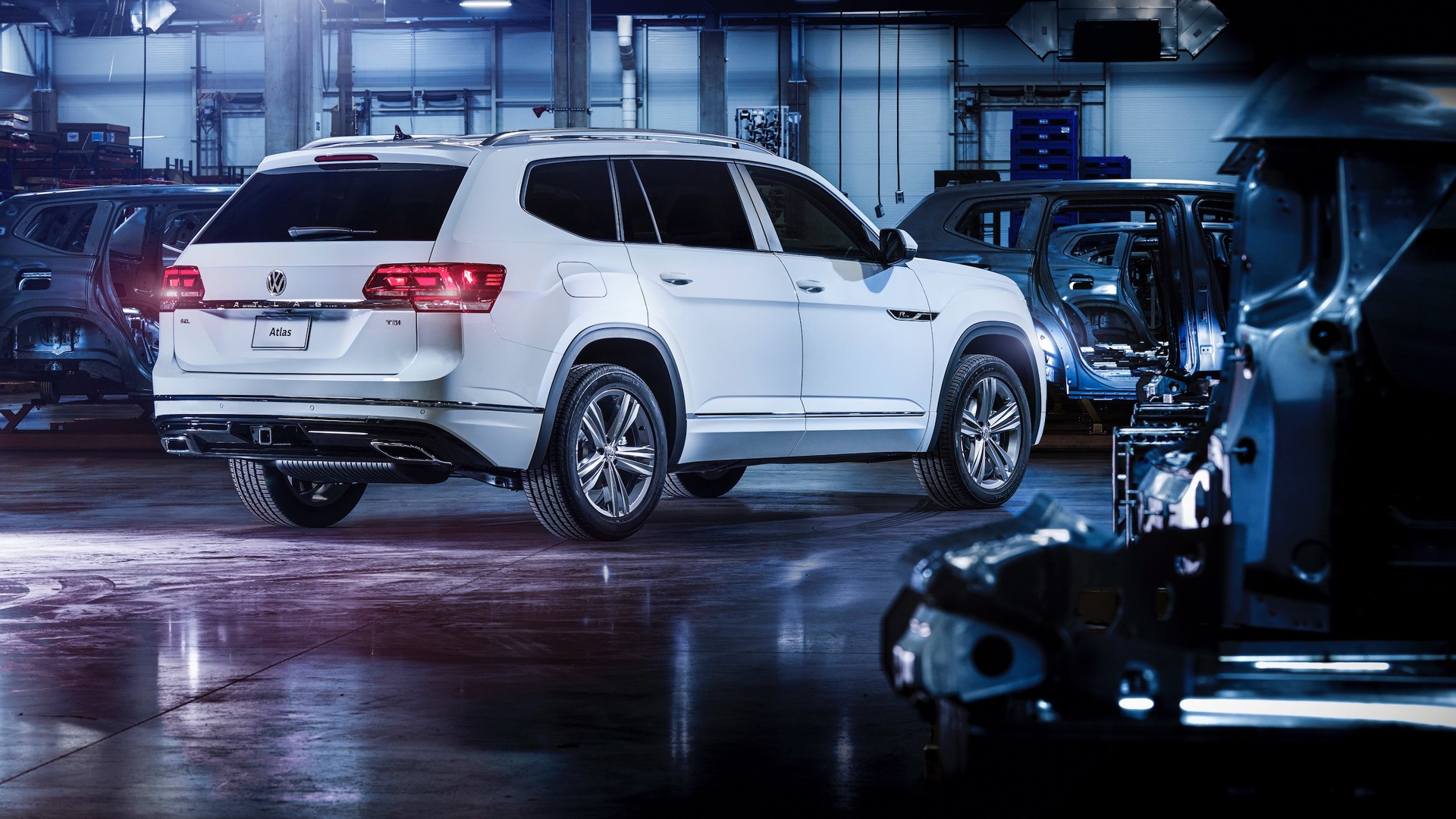 2018 volkswagen atlas rline revealed autoevolution