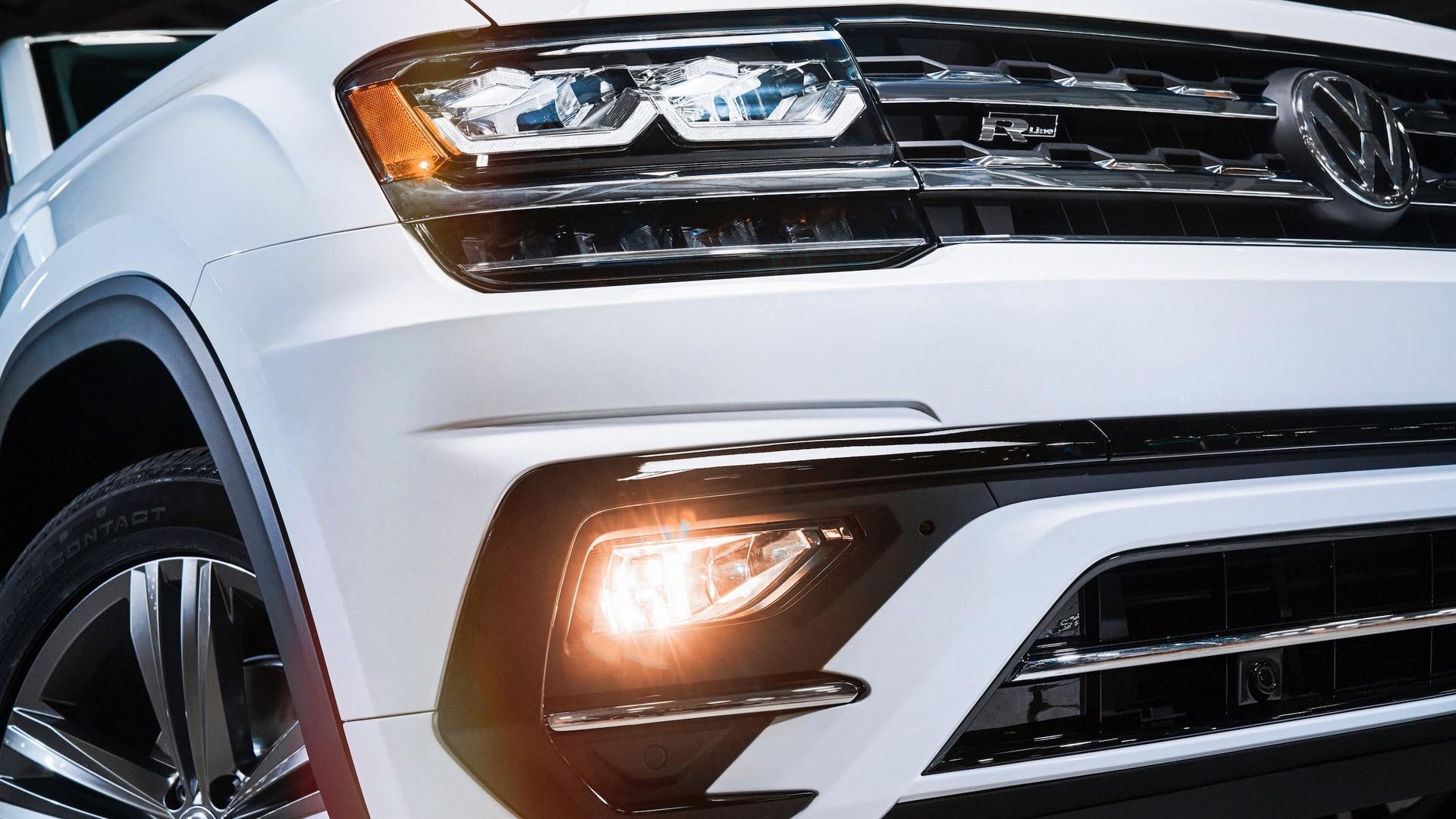 2018 Volkswagen Atlas R-Line Revealed - autoevolution