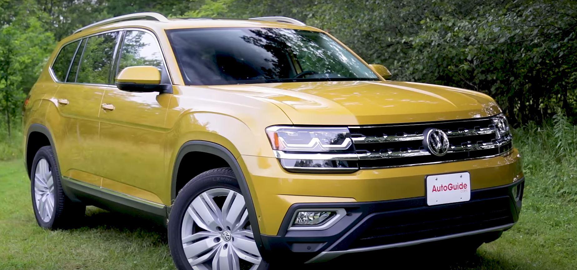 2018 Volkswagen Atlas Vs Honda Pilot Review Doesn T Fit