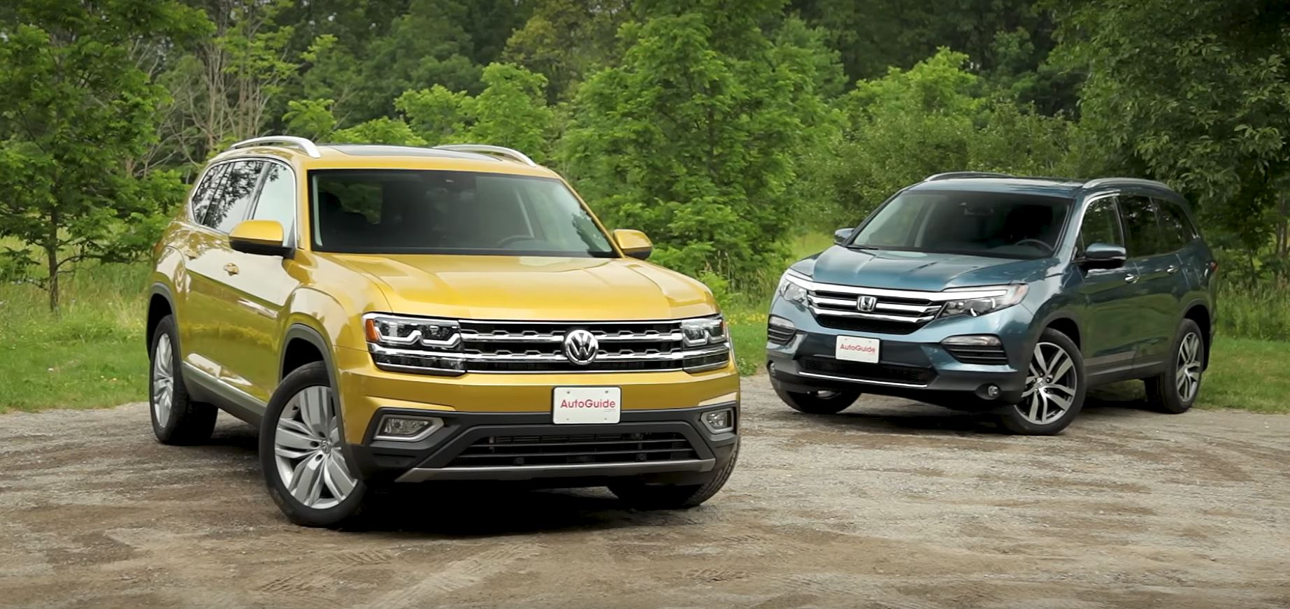 2018 volkswagen atlas vs honda pilot review doesn 39 t fit for Honda pilot 2018 review
