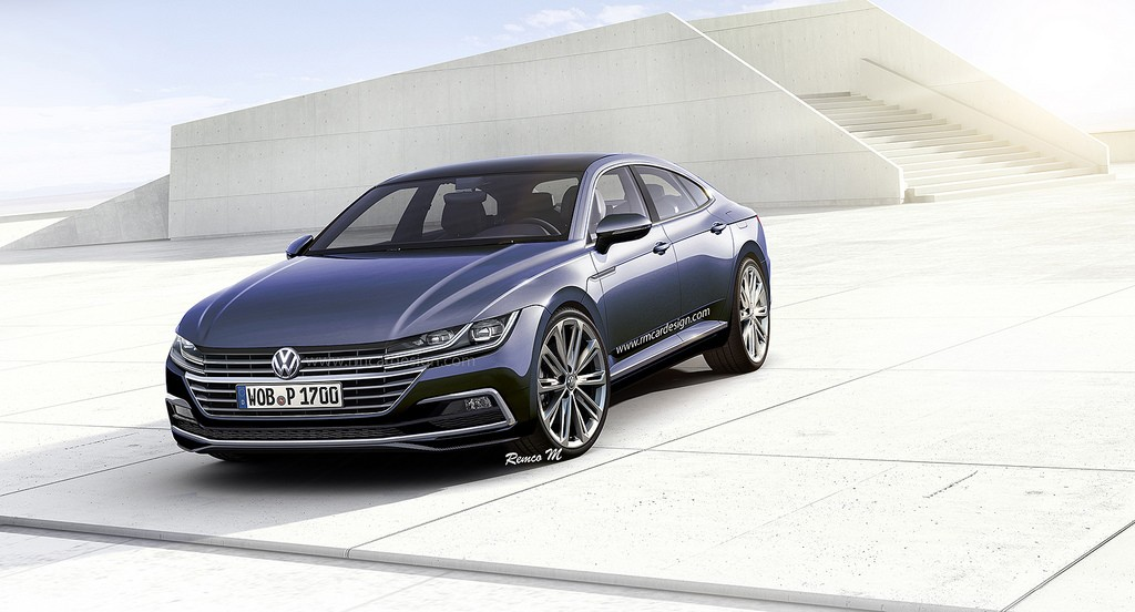 2018 Volkswagen Cc Gets Accurately Rendered Autoevolution