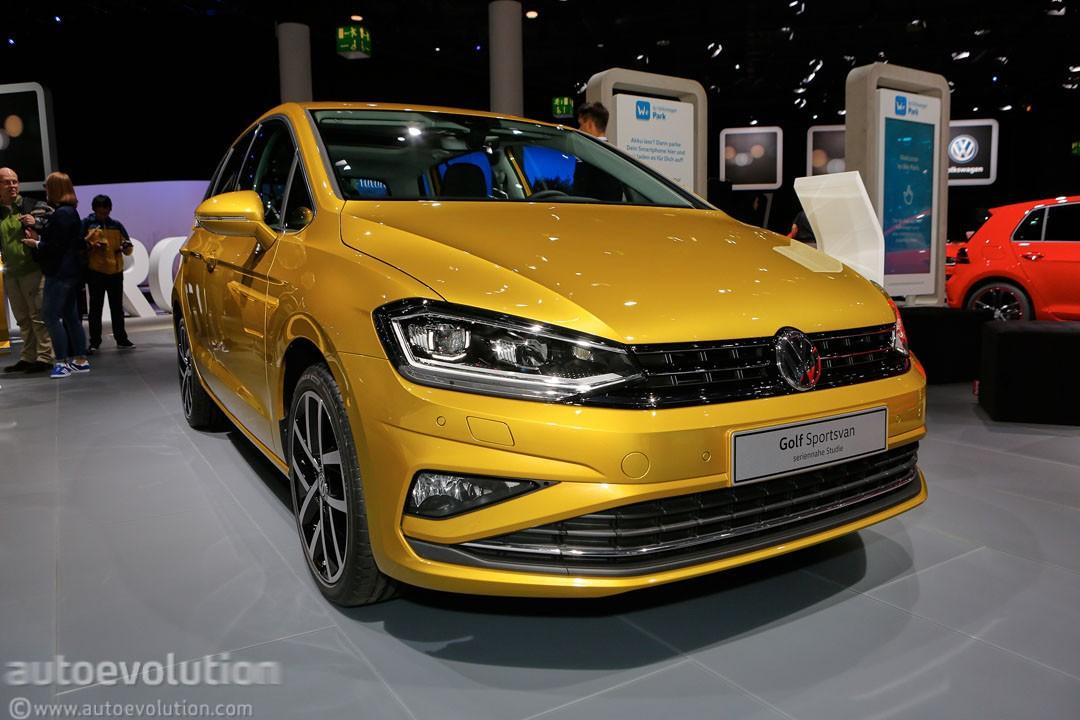 2018 Volkswagen Golf Sportsvan Is a Valiant Attempt at Making Minivans Cool - autoevolution