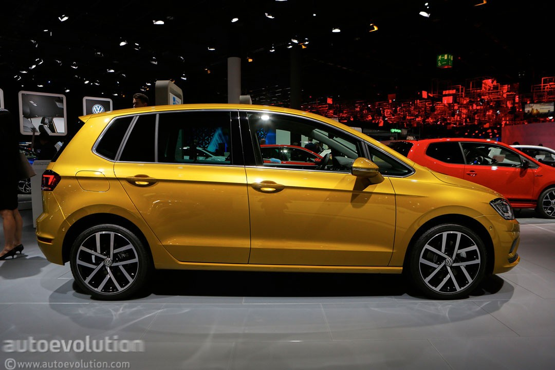 Vw Golf Suv >> 2018 Volkswagen Golf Sportsvan Is a Valiant Attempt at Making Minivans Cool - autoevolution