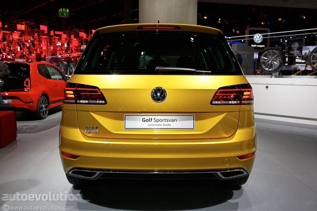 2018 Volkswagen Golf Sportsvan Is A Valiant Attempt At Making