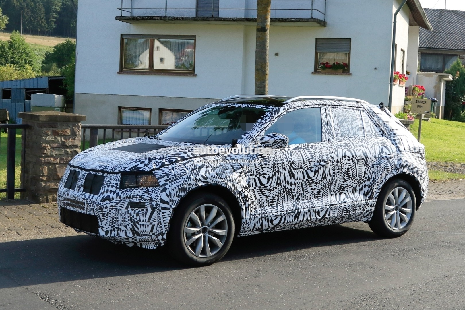 2018 volkswagen polo-based subcompact suv spied  us market entry possible