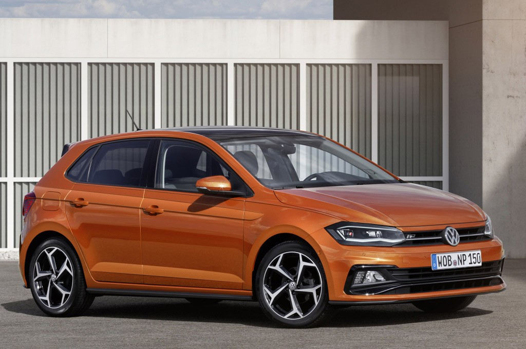 2018 volkswagen polo r line and polo gti leaked look better than expected autoevolution