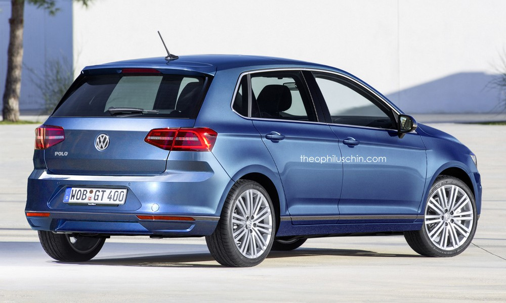 2018 volkswagen polo rendered for no reason looks too serious autoevolution. Black Bedroom Furniture Sets. Home Design Ideas