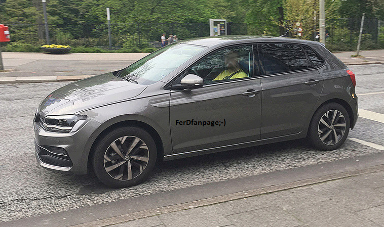 2018 volkswagen hatchback. unique 2018 2018 volkswagen polo spied undisguised again   inside volkswagen hatchback