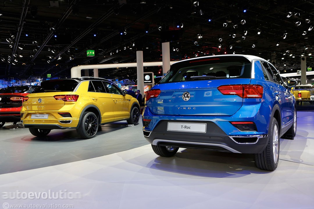 2018 Volkswagen T-Roc Shows VW's Funkier Side in Frankfurt - autoevolution