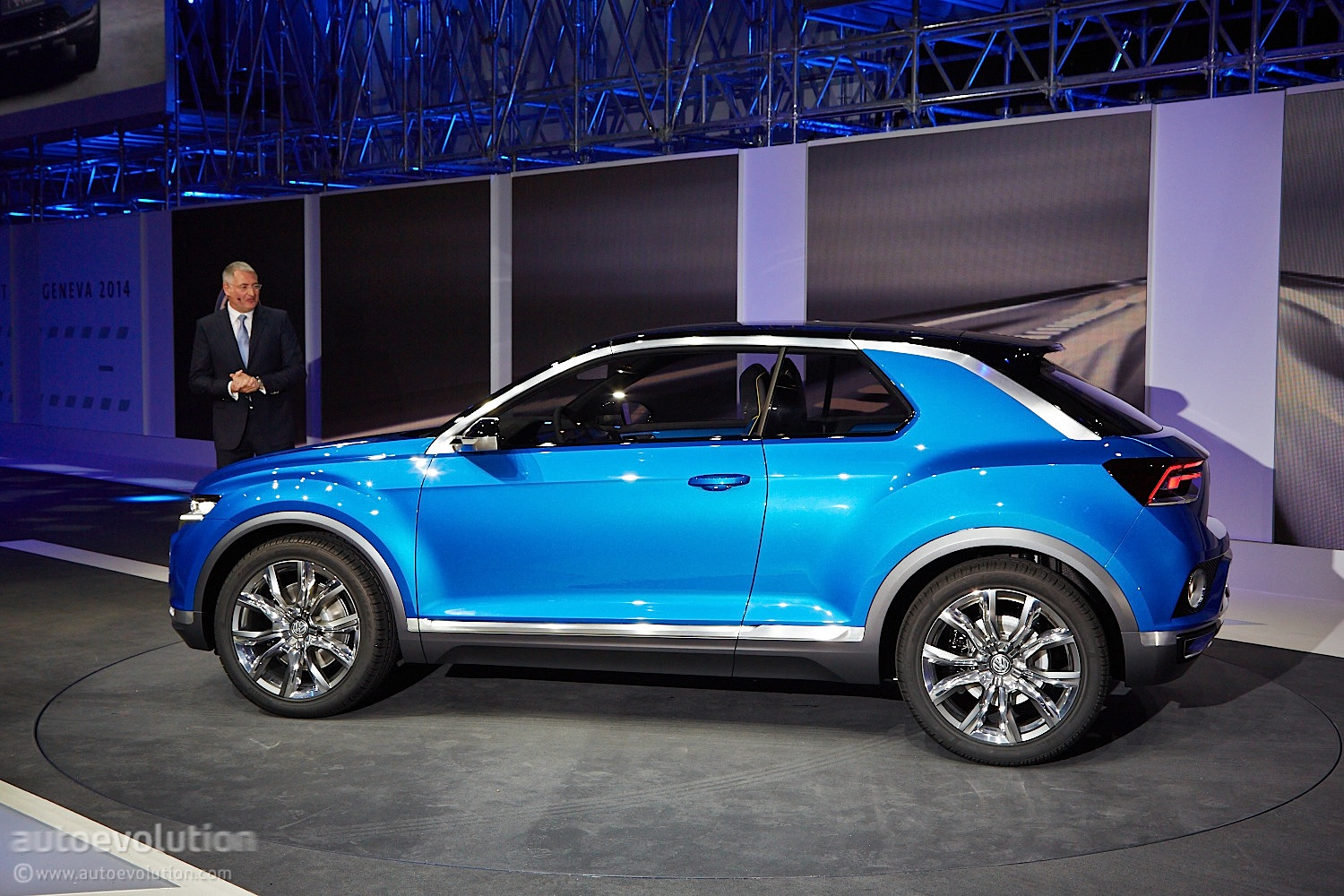 2018 volkswagen t roc funky suv teased by official sketches debuts on august 23 autoevolution