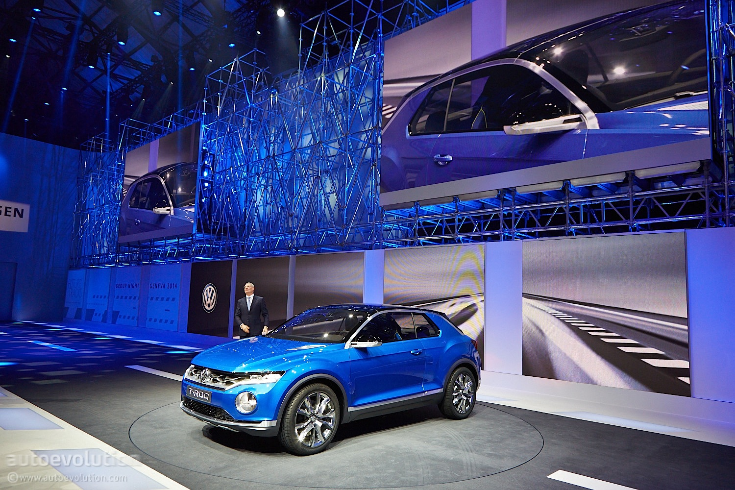 2018 Volkswagen T-Roc Funky SUV Teased By Official Sketches, Debuts On August 23 - autoevolution