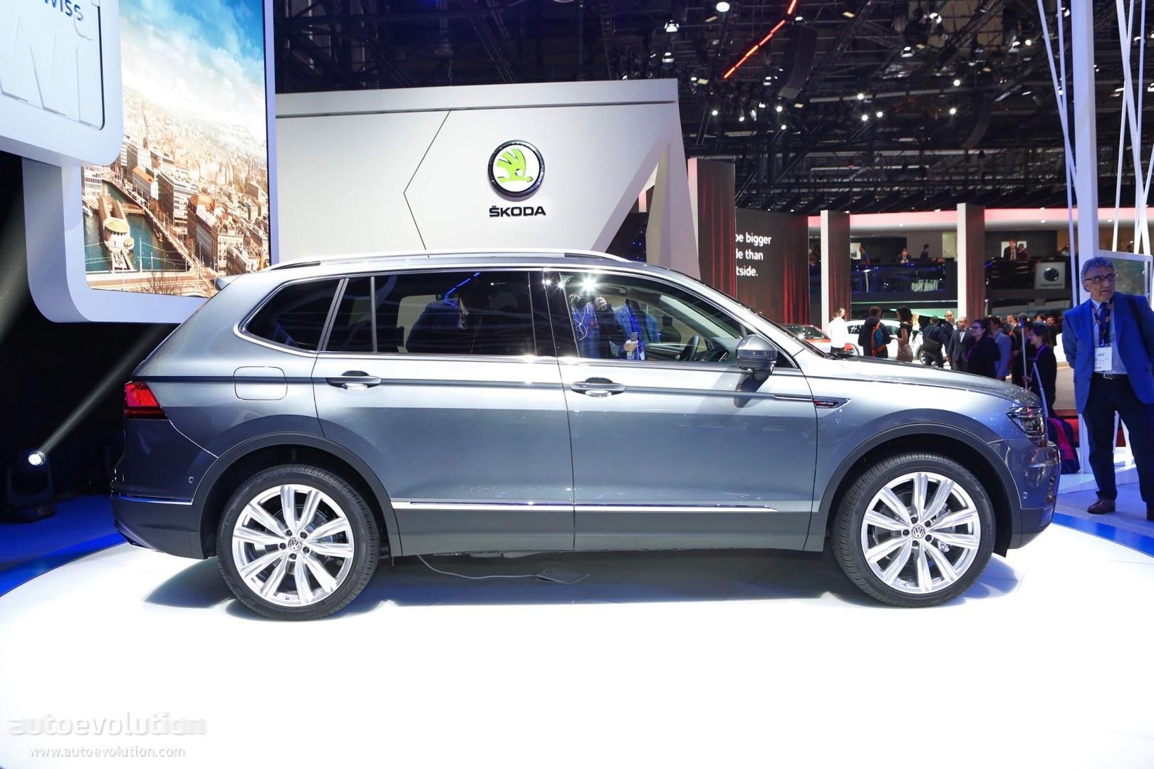 2018 Volkswagen Tiguan Aces IIHS Crash Tests Despite Bad Headlight Performance - autoevolution