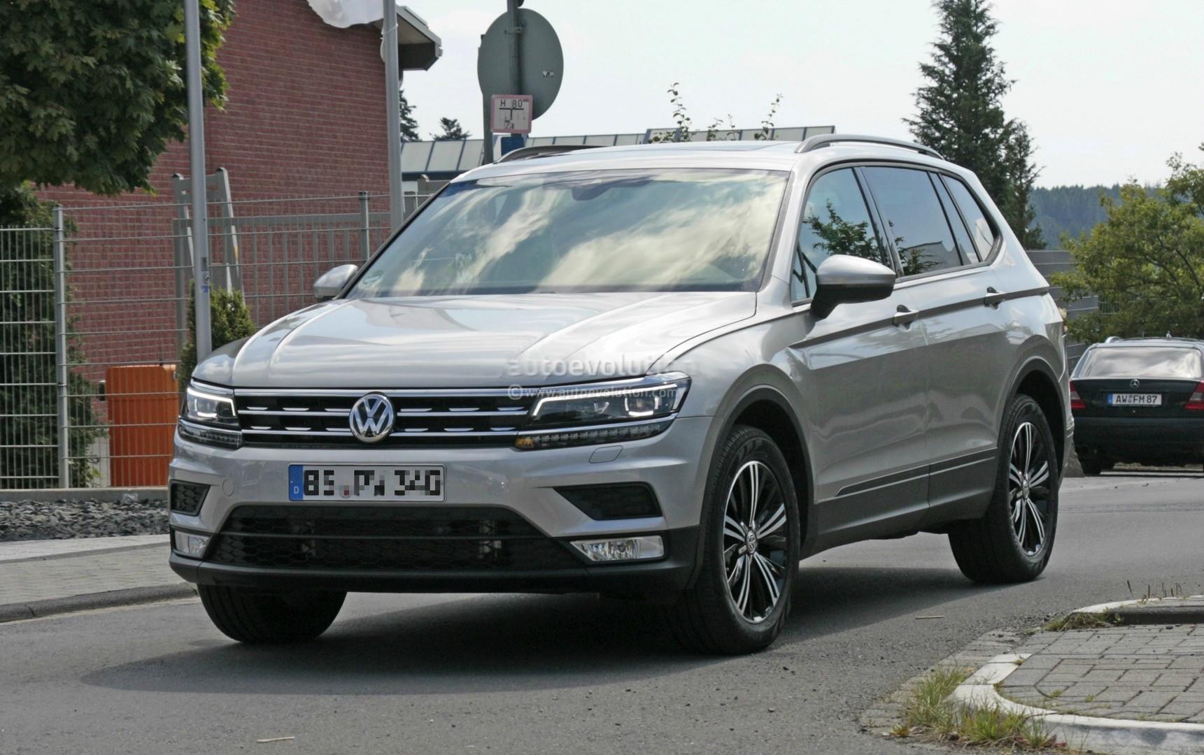 2018 Volkswagen Tiguan Allspace 7 Seater Teased For