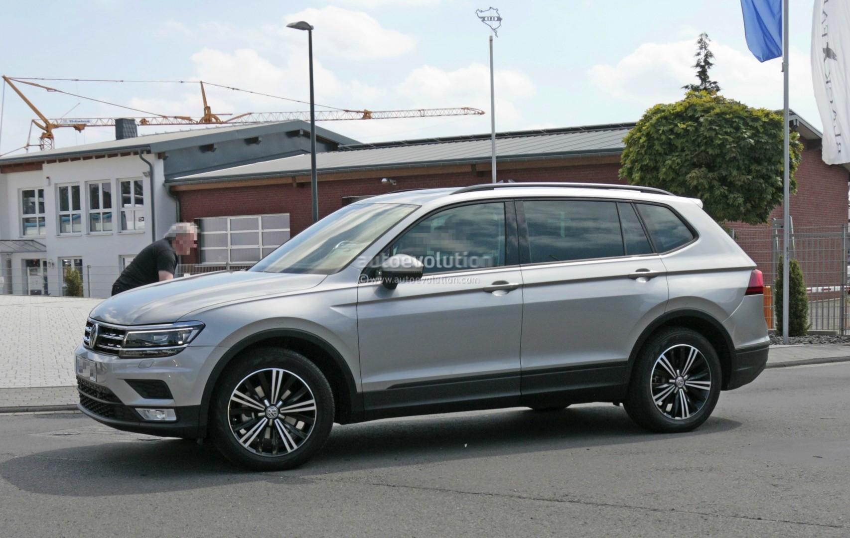 Volkswagen Tiguan 2017 7 Seater >> 2018 Volkswagen Tiguan Allspace 7 Seater Teased For Detroit