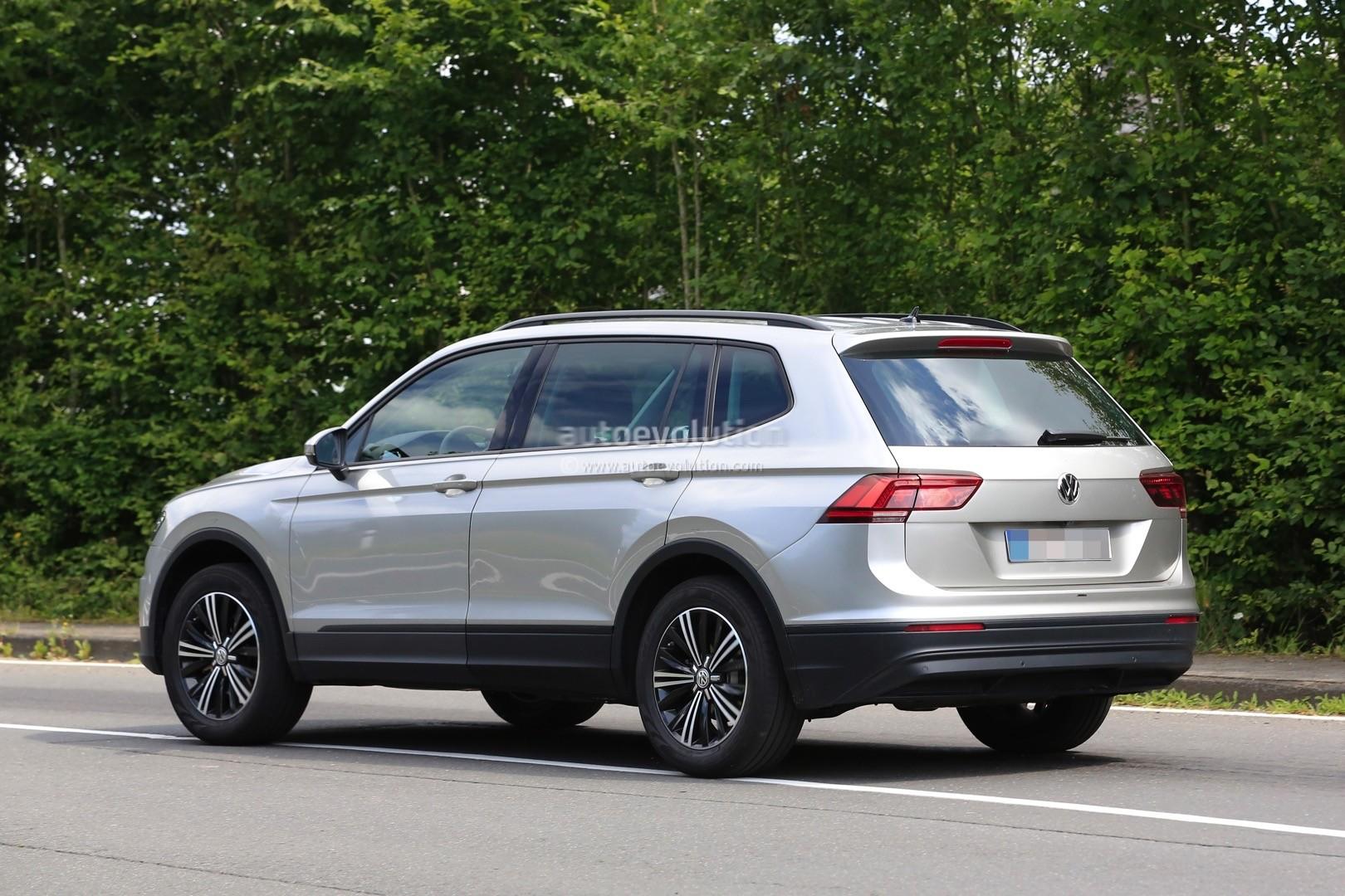 2018 Volkswagen Tiguan Allspace 7-Seater Teased for Detroit ...