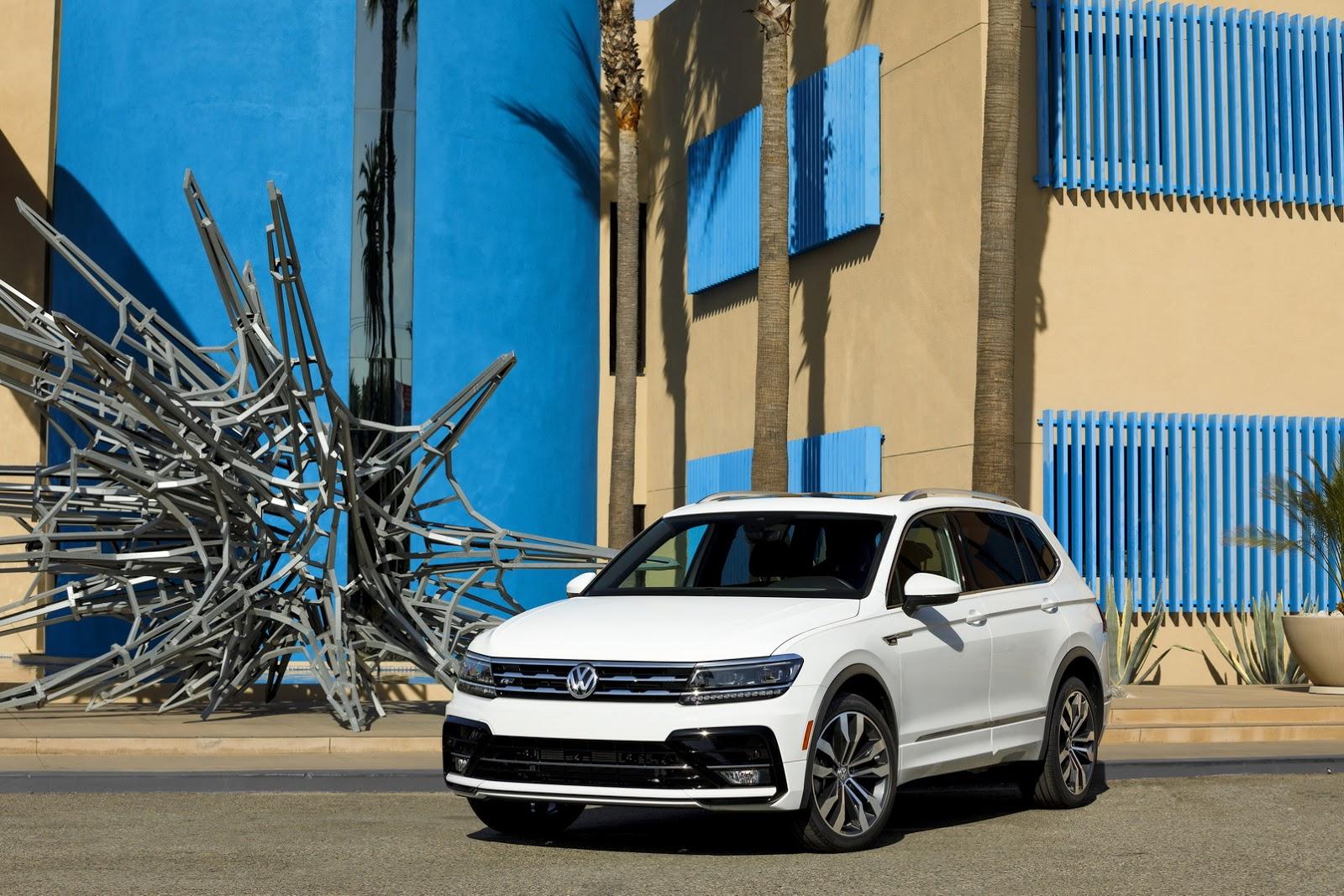 2018 Volkswagen Tiguan Gets R Line Body Kit in America