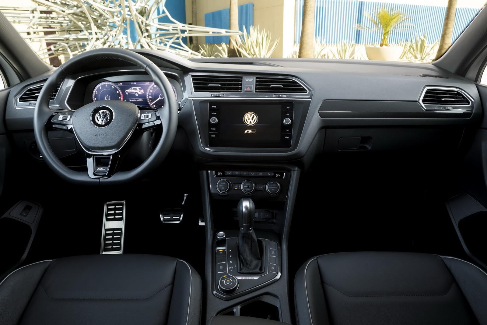 2018 Volkswagen Tiguan Gets R-Line Body Kit in America - autoevolution