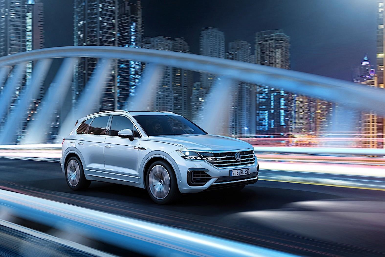 2018 Volkswagen Touareg Breaks Cover in China - autoevolution