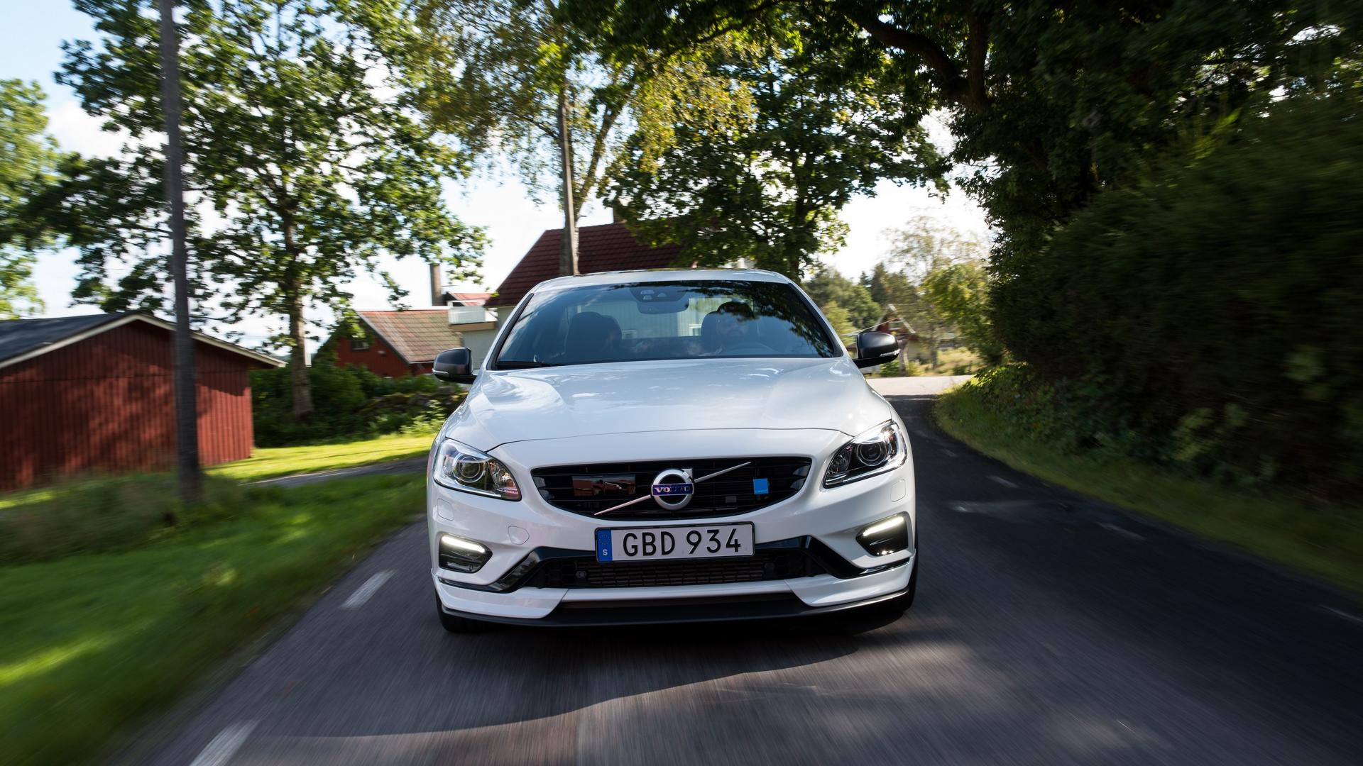 2018 volvo open. unique 2018 2018 volvo s60 polestar with carbon fiber aerodynamic enhancements for volvo open