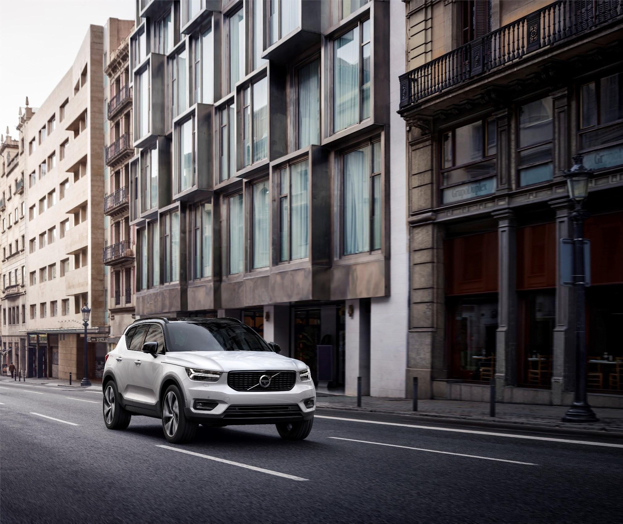 2018 Volvo XC40 T5 AWD Momentum Starting At $35,200