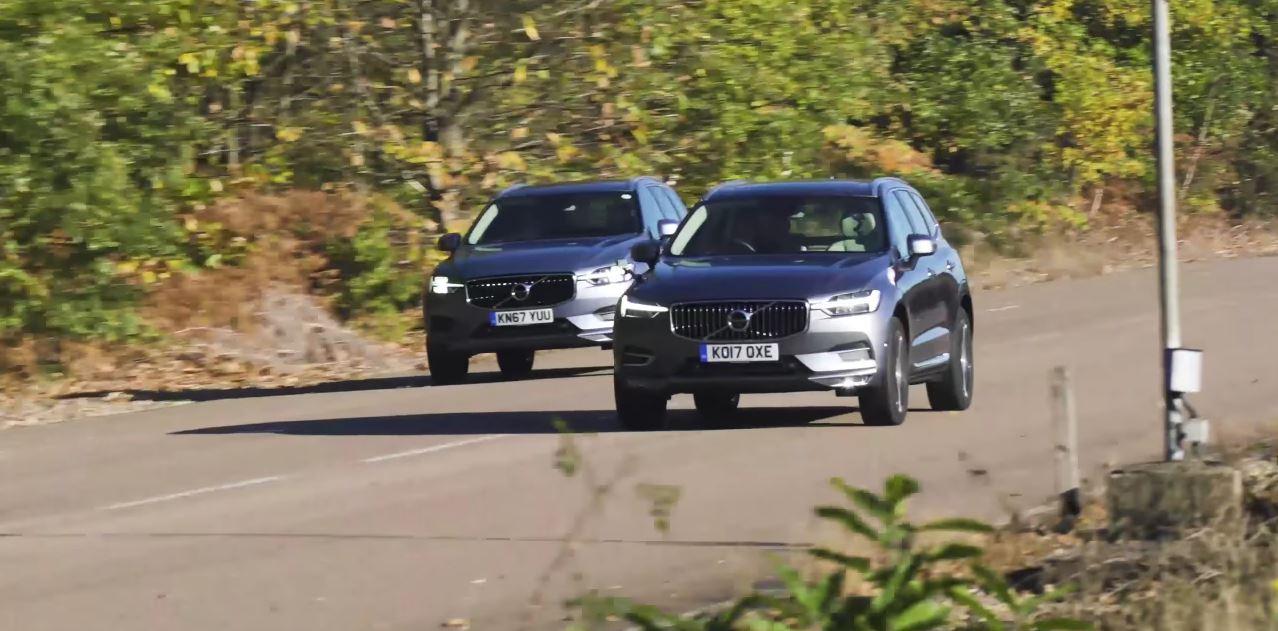 2018 Volvo XC60 D4 vs  D5 Race Suggests PowerPulse Is