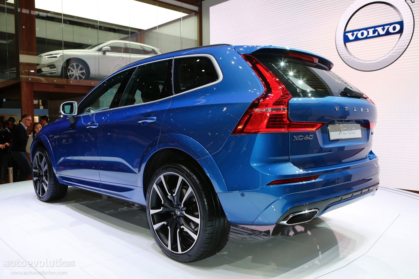 2018 volvo xc60 making u s debut at new york auto show - Auto motor show ...