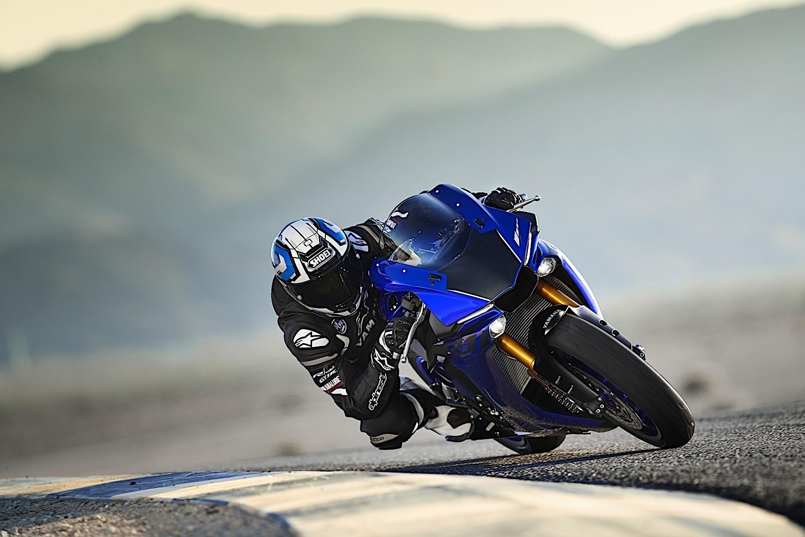 Yamaha YZF-R1M and YZF...