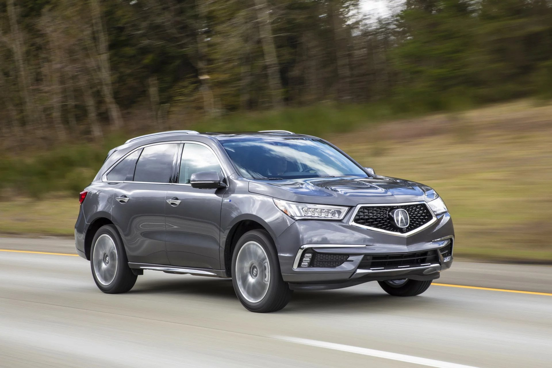 Acura MDX Sport Hybrid To Sell For Starting Thursday - Acura hybrid 2018