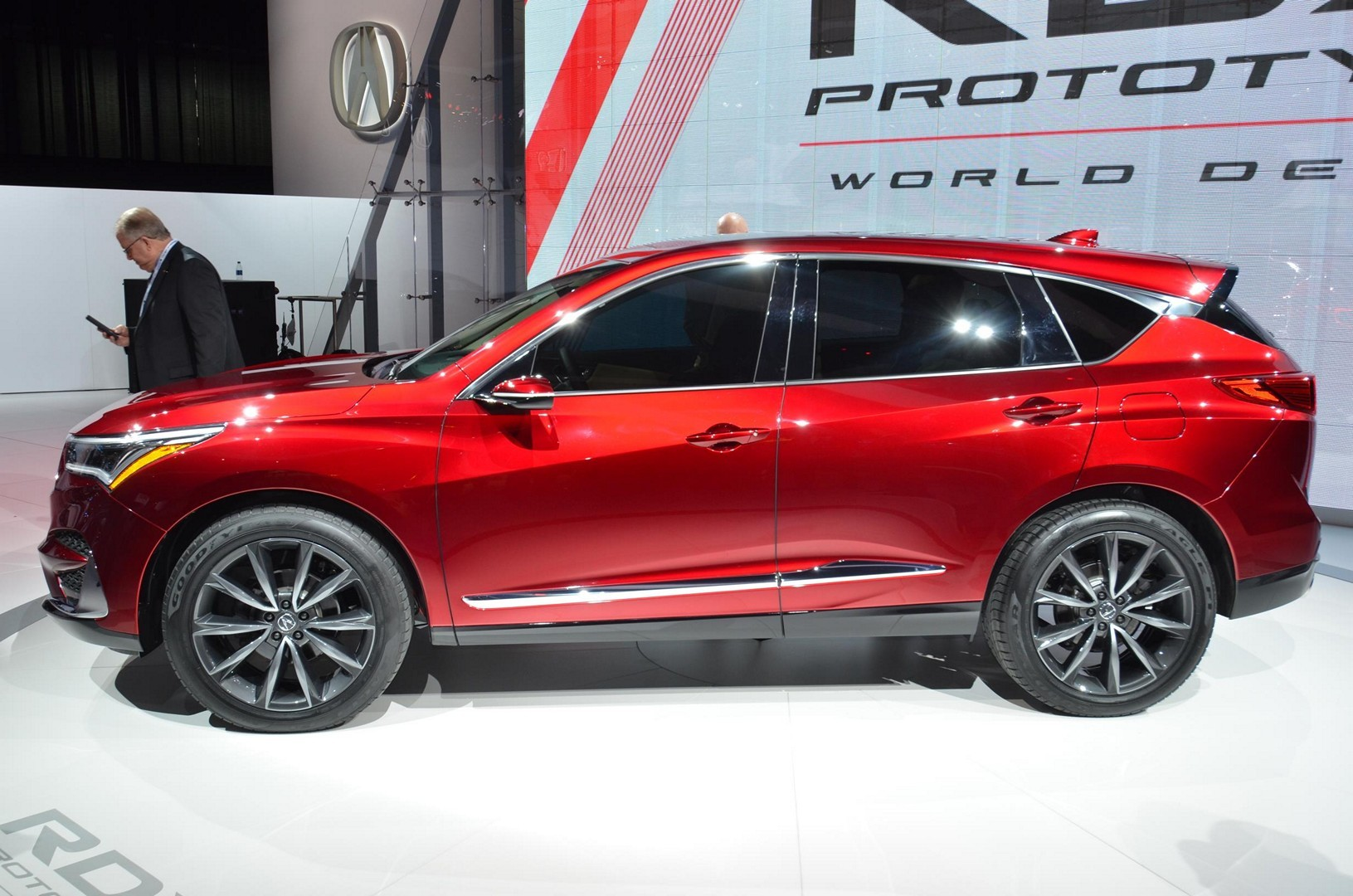 2019 Acura Rdx Prototype Looks Good From The Front In