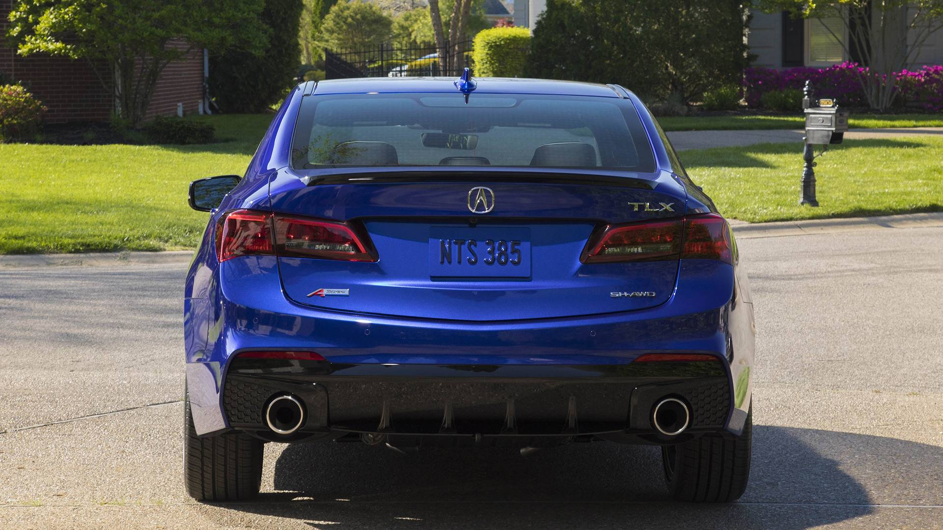 2019 acura tlx a-spec now available with base engine