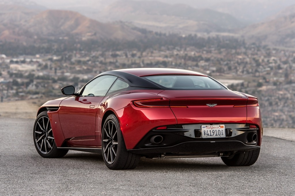 2019 Aston Martin Db11 Amr Listed On Automaker S Media Website