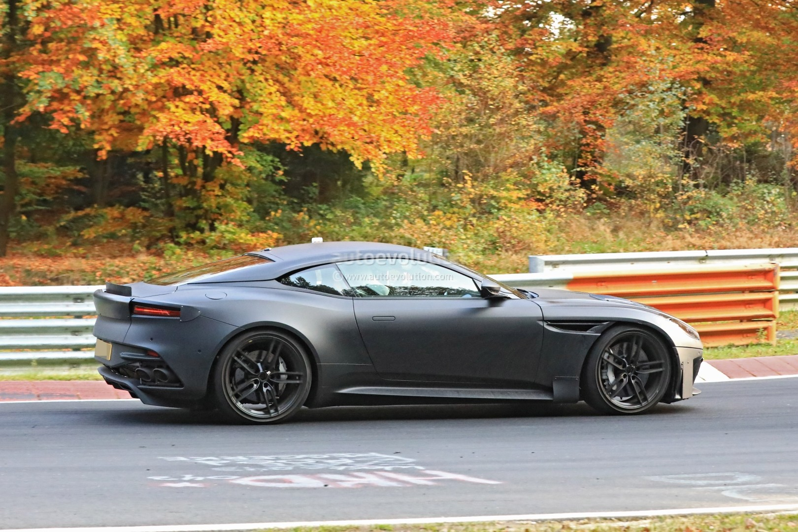 2019 aston martin vanquish spied on nurburgring. Black Bedroom Furniture Sets. Home Design Ideas