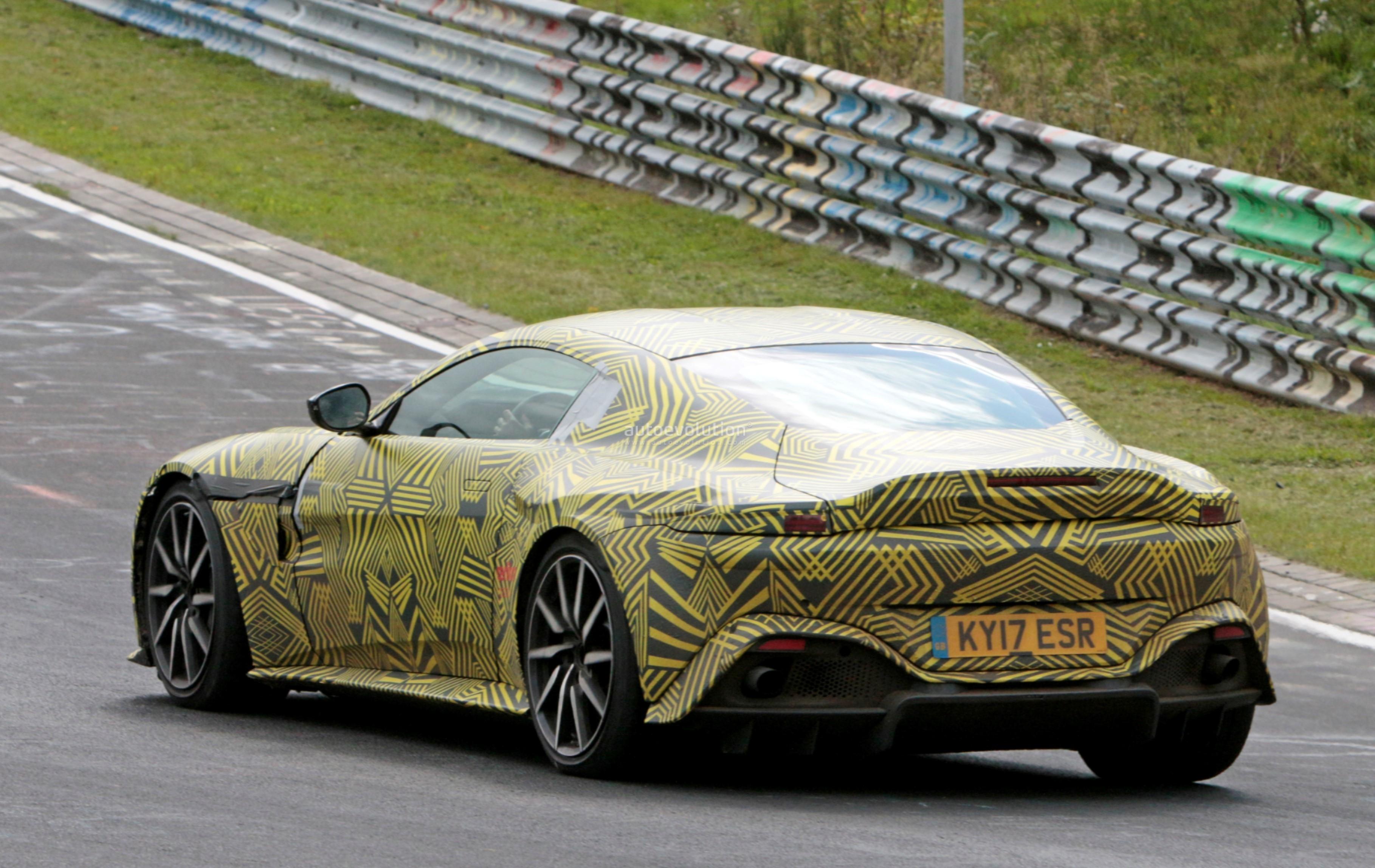 2019 Aston Martin Vantage Specifications Teased M177 V8 Develops