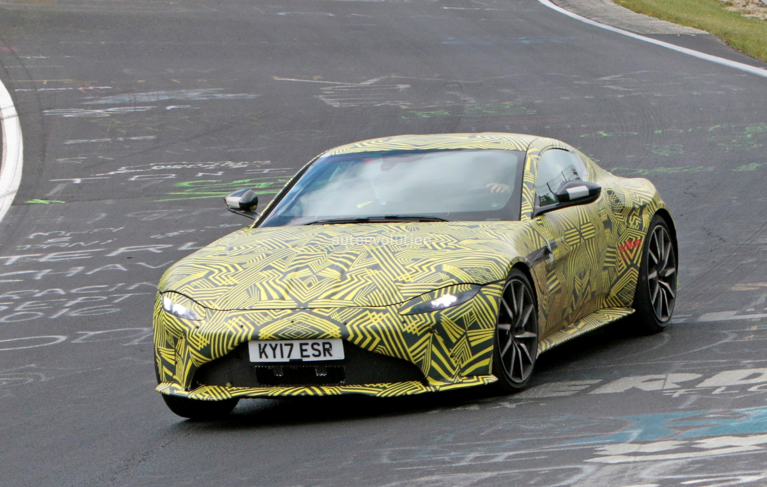 Aston Martin Vantage Spied With Zf Speed Automatic Transmission